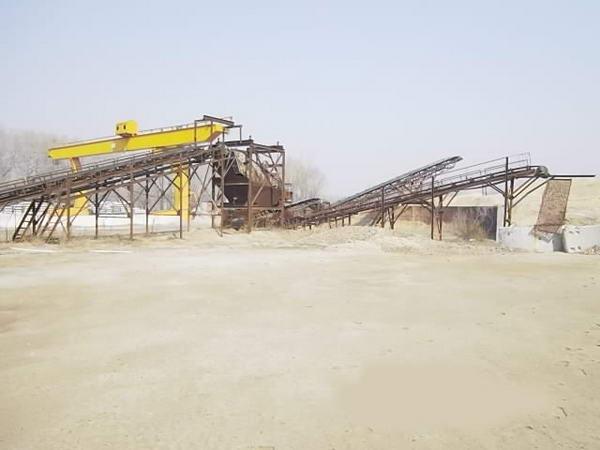 600吨/小时制砂系统