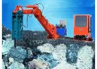 固定式液压破碎机在矿山应用